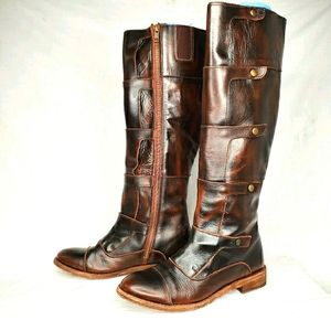 VOLATILE Delaney Tall Leather Boots Sz 7